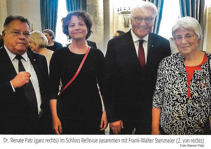 Bundesorden für Renate Patz